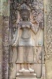 Escenas camboyanas 16 del templo Foto de archivo libre de regalías