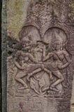 Escenas camboyanas 21 del templo Fotos de archivo libres de regalías