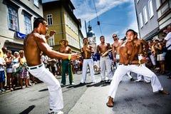 Escenas de la samba Fotos de archivo libres de regalías