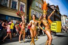 Escenas de la samba Imagen de archivo libre de regalías