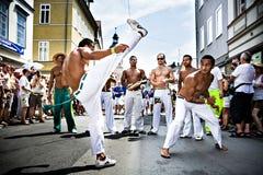 Escenas de la samba Fotografía de archivo libre de regalías