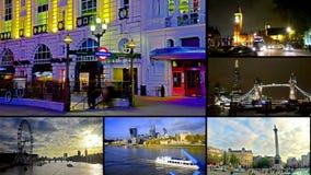 Escenas de las señales de Londres Reino Unido
