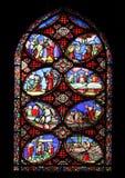 Escenas a partir de la vida del Cristo fotografía de archivo