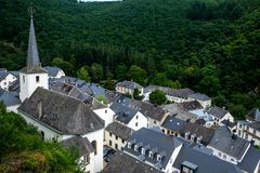 Free Esch-sur-Sûre In Luxembourg Stock Image - 103554951