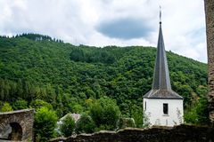 Free Esch-sur-Sûre In Luxembourg Royalty Free Stock Photo - 103555115