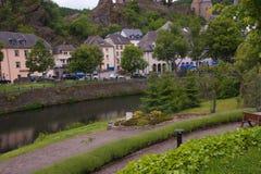 Esch-sur sicher, Luxemburg Stockfotos