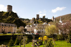 Esch sur Sure - Luxembourg. Esch sur Sure in Luxembourg Royalty Free Stock Photography