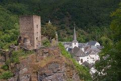 Esch sur sure,luxembourg Stock Images