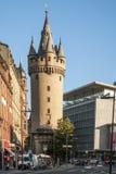 Eschenheimer Turm w Frankfurt magistrala - Am - zdjęcia stock