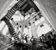 Escher stairs stock photo