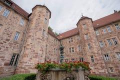 Eschwege castle hesse germany. The eschwege castle in hesse germany Royalty Free Stock Image