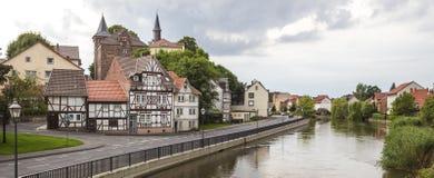 Eschwege historyczny miasto Hesse Germany zdjęcia royalty free