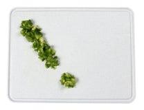 Esclamazione del pepe verde Fotografia Stock Libera da Diritti