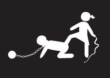 Esclavage Image stock