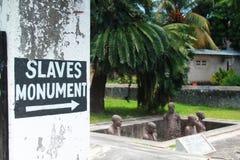 Esclaviza el monumento Fotografía de archivo libre de regalías