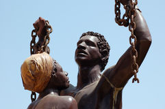 Esclaviza la liberación Imagen de archivo libre de regalías