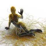 Esclerose múltipla - Art Concept Imagens de Stock