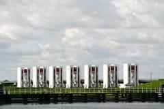 Esclusas en los Países Bajos fotos de archivo libres de regalías