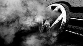 Escândalo da fraude de Volkswagen Fotos de Stock Royalty Free