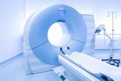 Escáner de MRi en hospital Fotografía de archivo libre de regalías