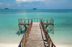 Escénico de la isla del paraíso Fotografía de archivo libre de regalías