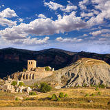 Esco in Huesca Aragon Pyrenees of Spain Royalty Free Stock Image