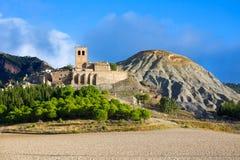 Esco in Huesca Aragon Pyrenees of Spain Royalty Free Stock Photography