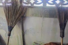 Escoba del coco Imagen de archivo
