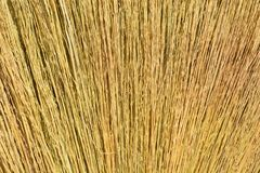 Escoba hecha de hierba Imagenes de archivo