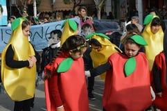 Escobar, Argentina, otto luglio due mila e sedici Childre Immagine Stock Libera da Diritti