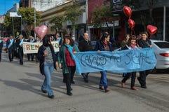 Escobar, Argentina, otto luglio due mila e sedici Donne h Fotografia Stock Libera da Diritti