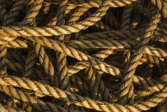 escocia febrero 2008 Extracto de la cuerda Imagen de archivo