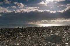 escocia Luce Bay Septiembre de 2012 Luce Bay Scotland Fotos de archivo