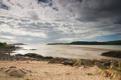 escocia Septiembre de 2012 Playa de Roughfirth Imagen de archivo