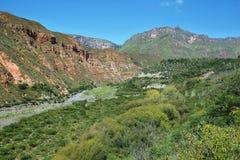 Escoipe Gorge (Quebrada de Escoipe) Royalty Free Stock Images