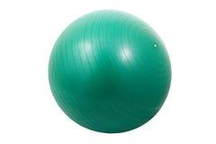 Bola verde del ejercicio Imagenes de archivo