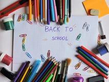 escola Foto de Stock