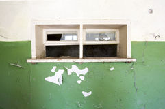 Escola abandonada imagem de stock