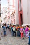 A escola caçoa a excursão Foto de Stock Royalty Free