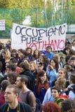 Escola da batida em Roma imagens de stock royalty free
