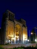 Escola da catedral da igreja de Cristo, Victoria, BC, Canadá fotos de stock royalty free