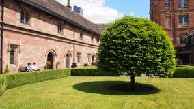 A escola de Chetham de música e de biblioteca, Manchester Reino Unido fotografia de stock royalty free