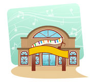 Escola de música Fotografia de Stock