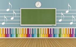 Escola de música Foto de Stock Royalty Free