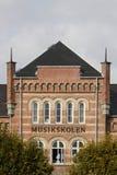 Escola de música de Aarhus Foto de Stock Royalty Free