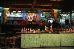 Escola de música do bloco de Angklung Ujo em Bandung Fotografia de Stock Royalty Free