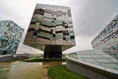 Escola de negócios Skolkovo do russo Imagens de Stock Royalty Free