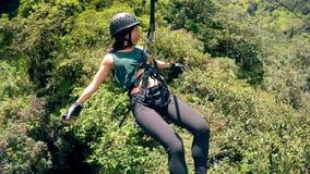 Escola de Providencia do La e parque de Cevallos em Ambato Equador 360 Vr vídeos de arquivo