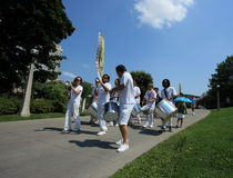 Escola de Samba en Chamberfest Imagen de archivo
