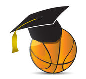 Escola de treinamento do basquetebol Fotos de Stock